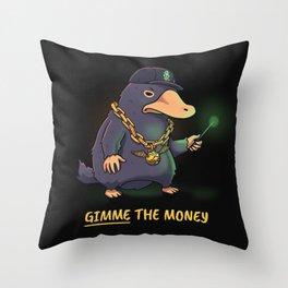 Gangsta Beast Throw Pillow