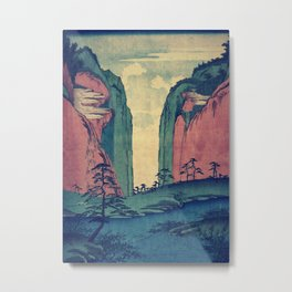 Amazed at Dinyia Metal Print