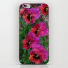 Pansies Painting iPhone & iPod Skin