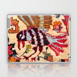 Vintage Persian Bird Rug Print Laptop & iPad Skin
