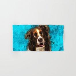 Border Collie Hand & Bath Towel