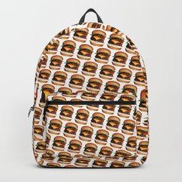 Cheeseburger Pattern Backpack