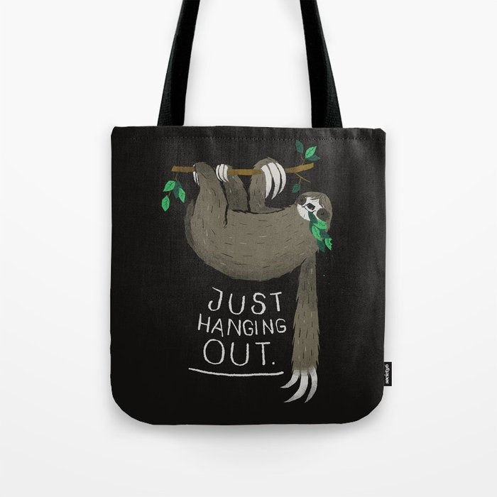 just hanging out. Tote Bag