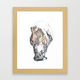 untitled (from the stone maiden series) Framed Art Print