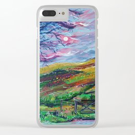 Brecon Beacons Clear iPhone Case