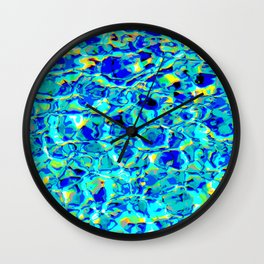 Pool-Party Remix #1 Wall Clock