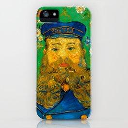 """Vincent van Gogh """"Portrait of Joseph Roulin"""" iPhone Case"""