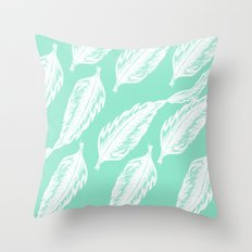 Feathered Feels Throw Pillow