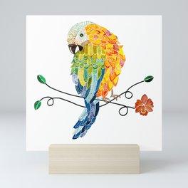 Bird of Costa Rica, hybrid macaw Mini Art Print