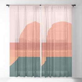 Sunseeker 08 Landscape Sheer Curtain