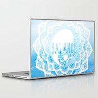 balance Laptop & iPad Skins featuring Balance by Sara Eshak