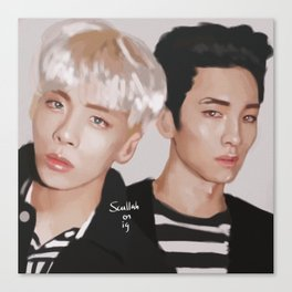 Jongkey Canvas Print