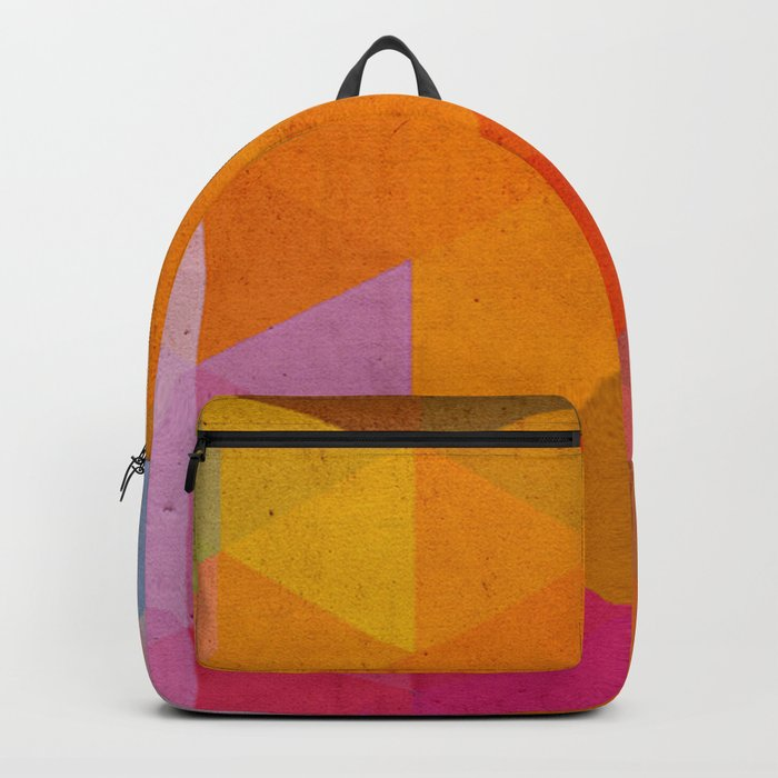 try a different angle triangle Backpack