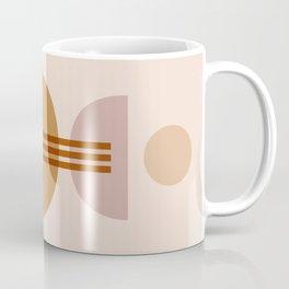 Amber Abstract Half Moon 1 Coffee Mug