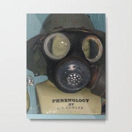 Phrenology's a gas Metal Print