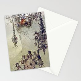 """The Fairies Ascent"" by A. Duncan Carse Stationery Cards"