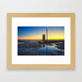 Brightlingsea Beach Essex Framed Art Print