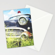 Cherries and Berries {Historic Cop Car} 1950's Buick  Stationery Cards