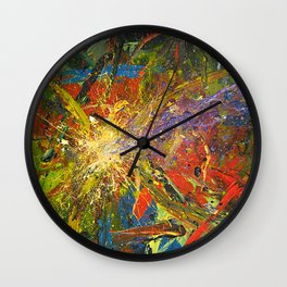 your unexpected cosmic jolt Wall Clock