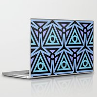 technology Laptop & iPad Skins featuring Alien Technology by Lyle Hatch