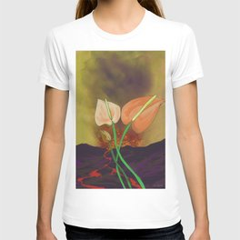 Last Flowers Before the Volcano T-shirt
