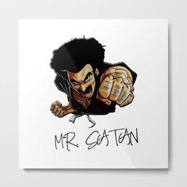satan Metal Print