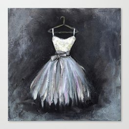 Ballerina Dress 2 - Painting Canvas Print