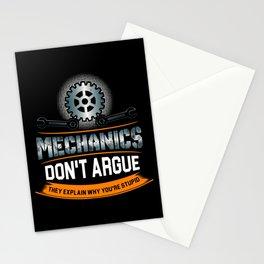 Mechanic Technician Engineering Auto-Mechanic Gift Stationery Cards