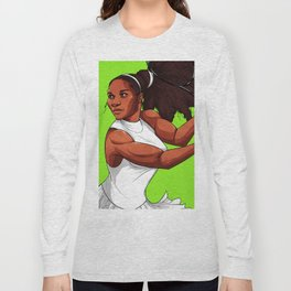 Queen Serena Long Sleeve T-shirt