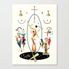 resurrectio Canvas Print
