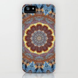 Colors of Rust / mandala-style-rust iPhone Case