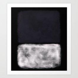 Rothko Inspired #11 Art Print