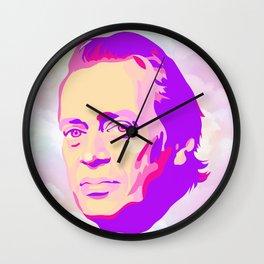 Mr. Pink Wall Clock