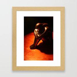 Statuette Framed Art Print