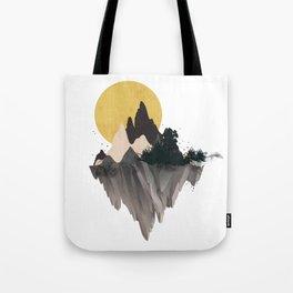 Moon Mountain Tote Bag