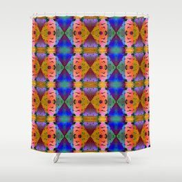 3105 Lights, stains, stripes, and patterns 1 ... Shower Curtain