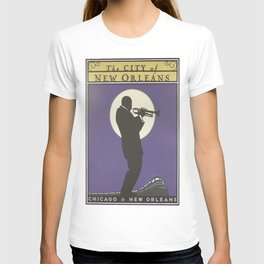 Vintage poster - City of New Orleans T-shirt