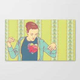 Sutures Canvas Print