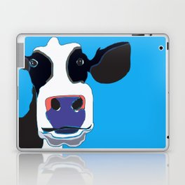 Cow in the Blue Sky Laptop & iPad Skin