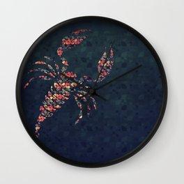 The Pattern Scorpio Wall Clock