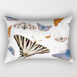 Colorful butterflies of europe Rectangular Pillow