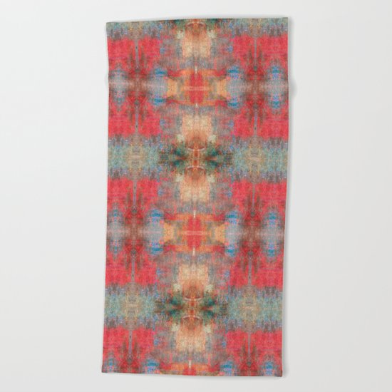 Abstract 0495 Beach Towel