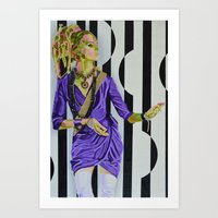 Psychedelic Certainty Art Print