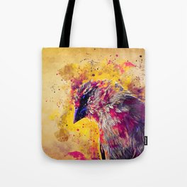 spotted madagascar fody wslsh Tote Bag