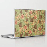 fig Laptop & iPad Skins featuring Fig by Meredith Miotke