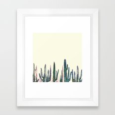 cactus vertical Framed Art Print