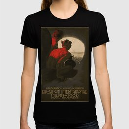 1906 Exposition Internationale Milan Vintage Travel Poster T-shirt