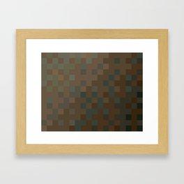 ABSTRACT PIXELS #0010 Framed Art Print