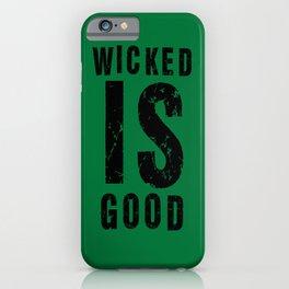 Maze Runner: Wicked is Good iPhone Case