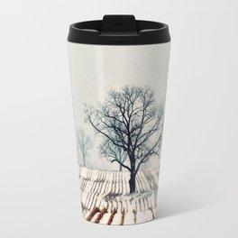 Winter Farm Travel Mug